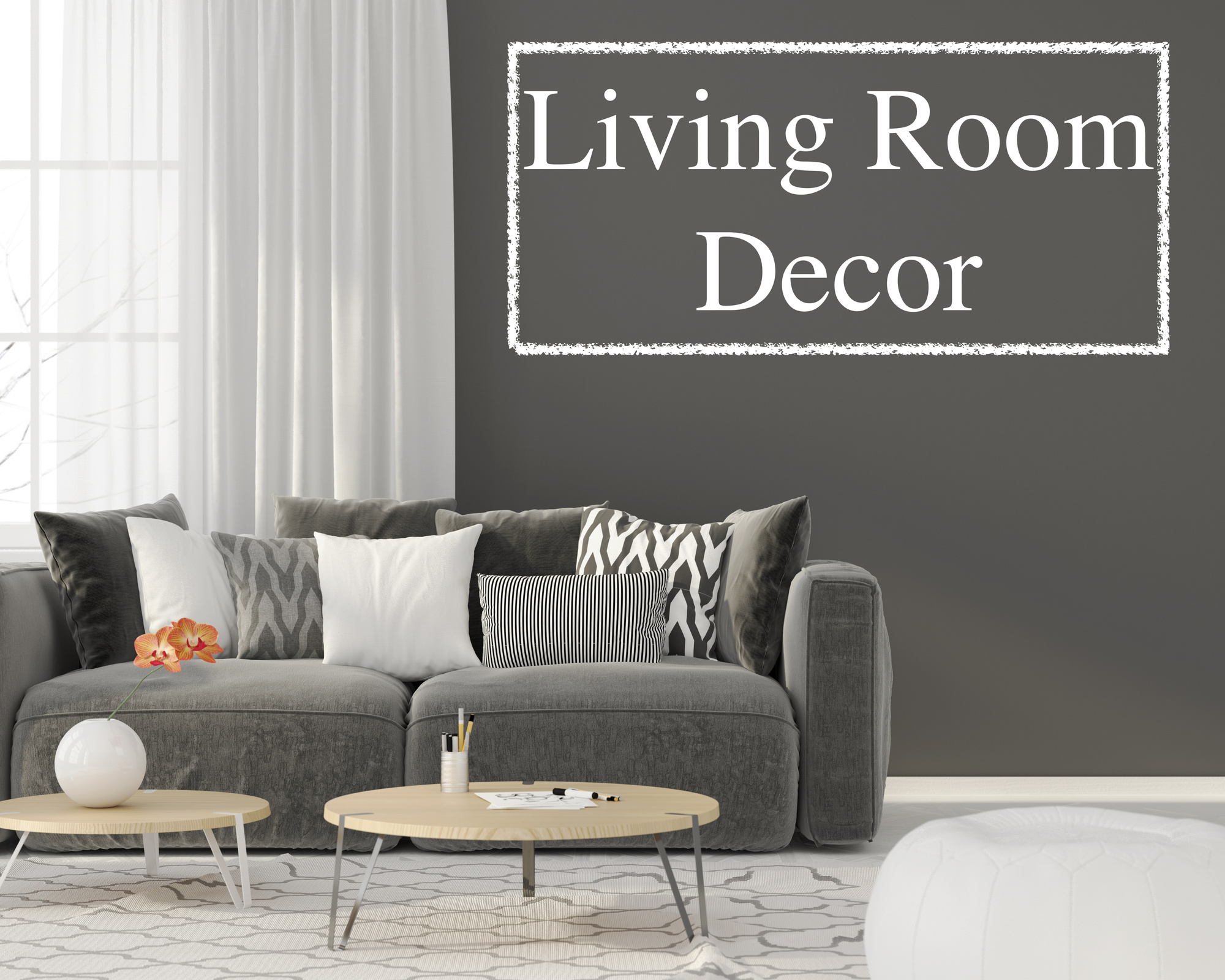 Personalize your new home 5 living room decor ideas you - What do you need in a living room ...